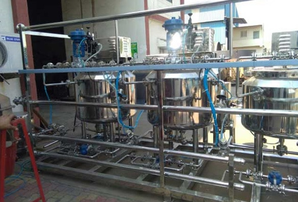 Syrup Manufacturing Plant - Oral Liquid Plant, Sugar Syrup Plant