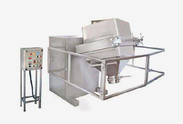 Cage Blender - Mixing and Batch Identification Blender