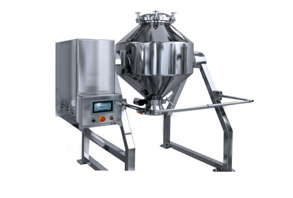 Double Cone Blender - Dry Powder Mixing Cone Blending Machine