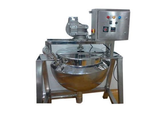Starch Paste Kettle - cGMP Hemispherical Starch Paste Kettle